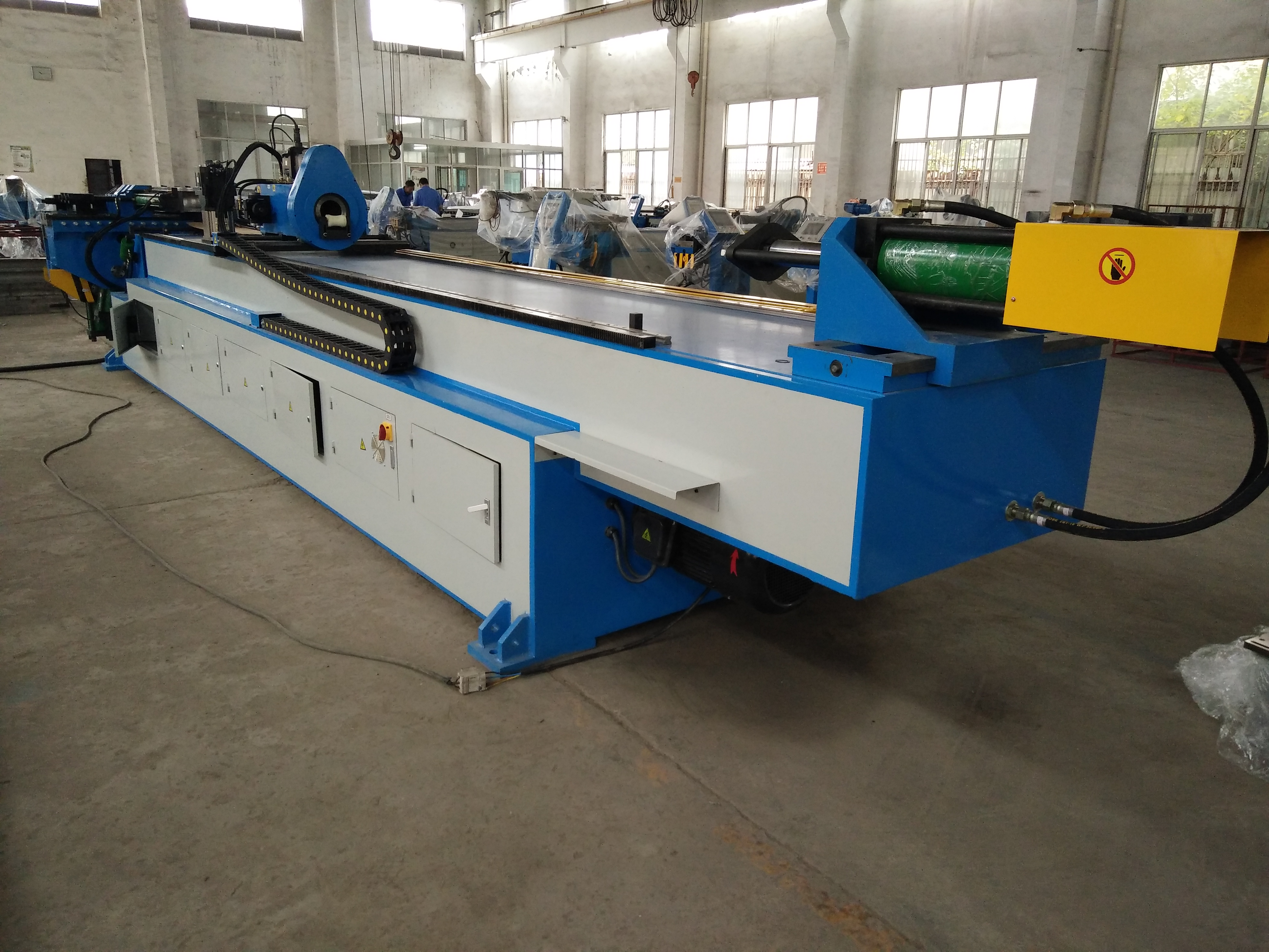automatic cnc aluminum cold Pipe Bending Machine