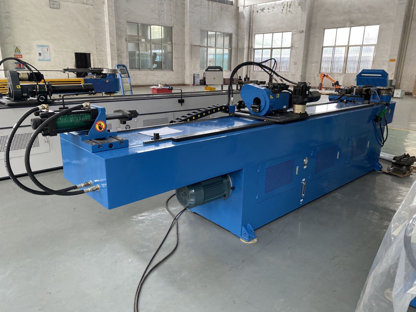 Single Head electric hydraulic CE Certificate Tube Bender