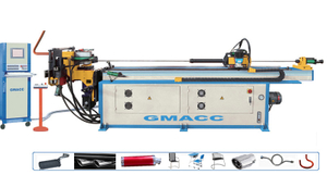 Full Automatic Electric CNC Tube Bending Machine for Solid Bar