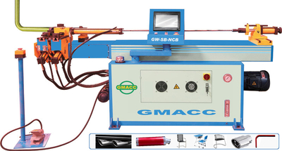5 Axis 3d CNC Tube Bending Machine With Booster